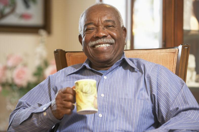 black-old-man