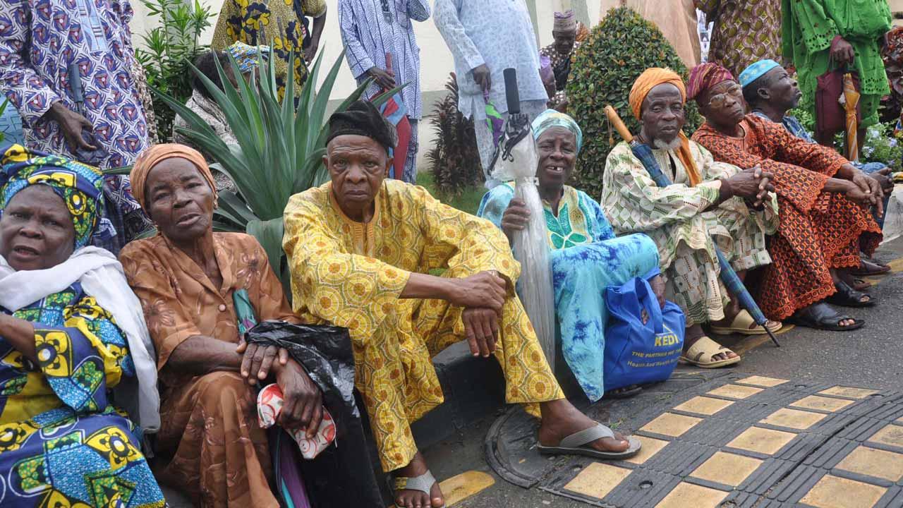 Rage of senior citizens