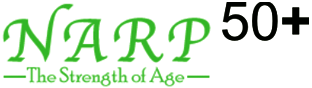 narp 50 plus logo