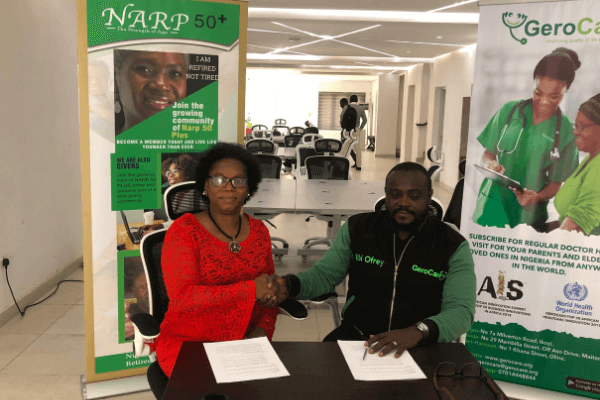NARP50+ Partners Gero Care to Provide adequate healthcare for older Nigerians