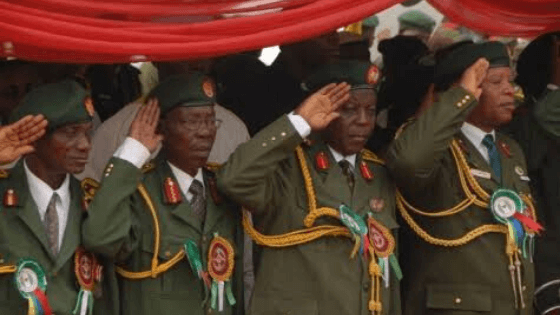 Nigeria's retired military officers appeal for payment of pension arrears