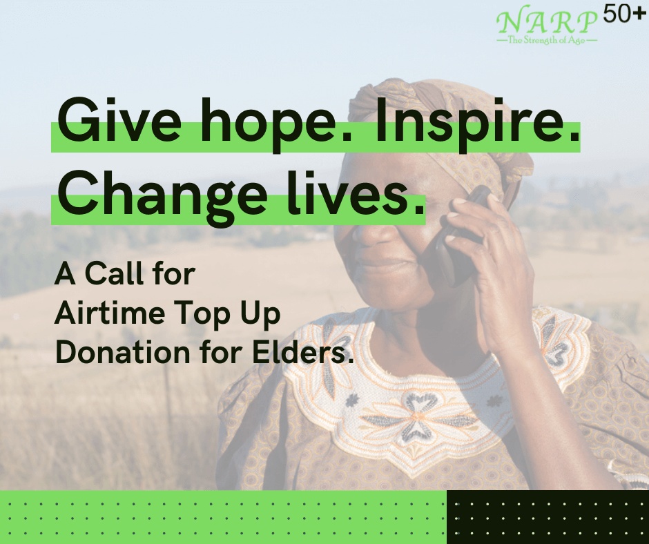 230 elders have benefited so far from 1k top up each.