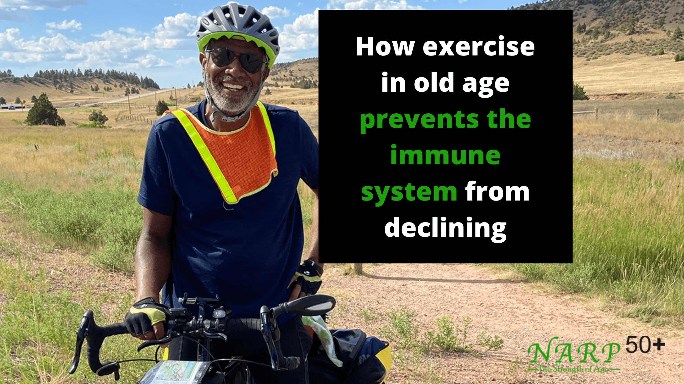 How exercise in old age
